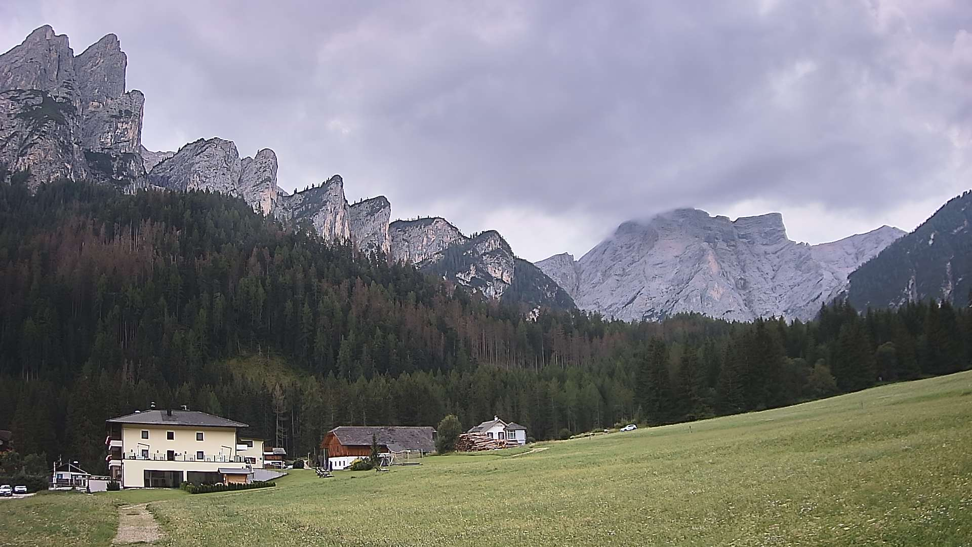 Mountains in Braies